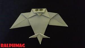 Cara Membuat Origami Kertas Lipat Dengan Bentuk Burung Hantu