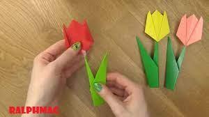 Cara Membuat Origami Bunga Tulip yang Indah dan Cantik