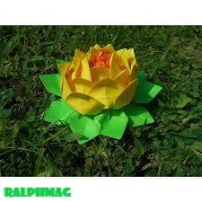 Cara Membuat Sebuah Origami Bungai Teratai yang Cantik nan Elok