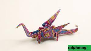 Ide Membuat Naga dari Origami