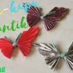 Langkah Langkah Dalam Membuat Origami Kupu Kupu yang Cantik