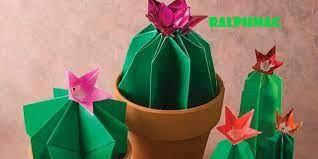 Berikut ini Cara Membuat Alas Dari Kertas Origami