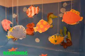 Cara Membuat Aquarium dan Ikan Menggunakan Kertas Lipat