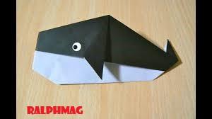 Langkah Langkah yang Harus Kamu Pelajari Dalam Membuat Origami Ikan Paus