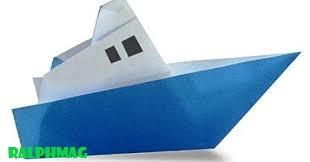 Tips dan Cara Dalam Membuat Kapal Origami Kertas Lipat