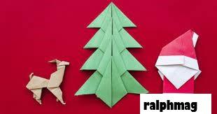 10 Origami Natal yang Mudah untuk Anak-Anak dan Dewasa