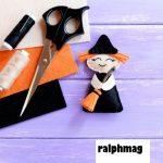 Membuat Hantu, Gagak dan Topi Penyihir Origami Untuk Halloween