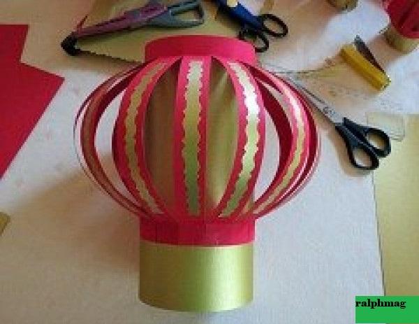 Cara Membuat Lampion/Lentera Kertas Origami