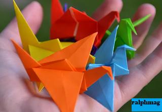 Sejarah Singkat Origami Kertas Lipat